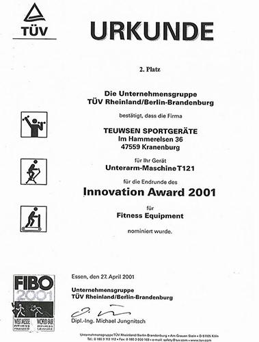 Award Unterarm Maschine